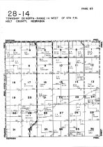 Township 28 North - Range 14 West, Holt County 1948